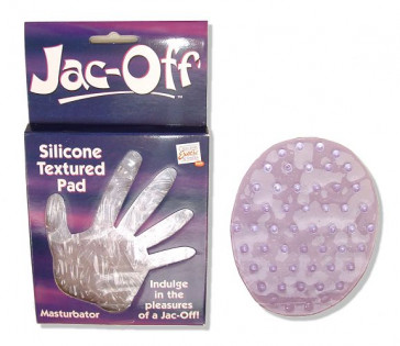 Mr Jac-Off Silicone Textured Pad