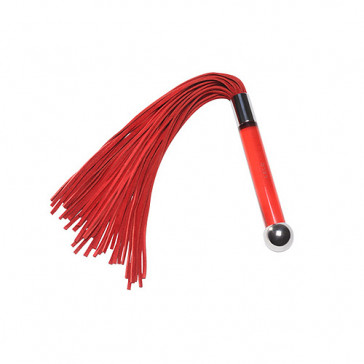 LELO Sensua Suede Whip - Red