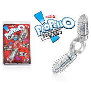 Screaming O Propello Dual Stimulation Vibrating Ring