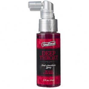 Doc Johnson Good Head Deep Throat Spray Wild Cherry