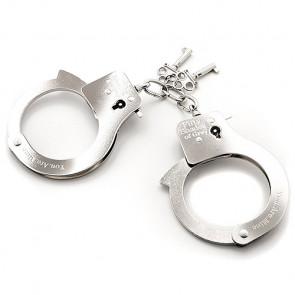 FSoG You. Are. Mine. Metal Handcuffs